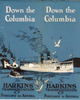 Harkins Georgiana voyage down the Columbia from Astoria to Portland.